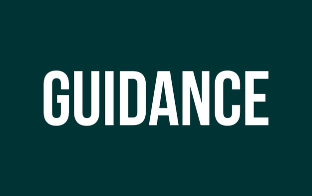 «Guidance» au lieu de «coaching».
