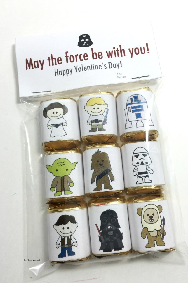 You can also help them make these out of this world Star Wars Valentines for their friends.