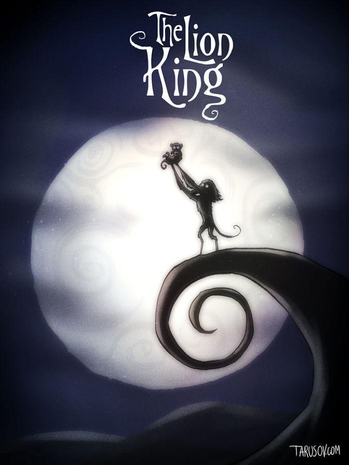 Andrew Tarusov Disney Tim Burton