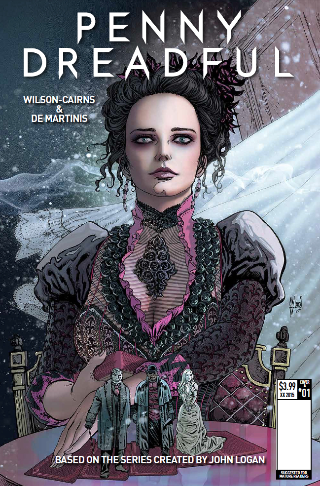 "Titan Reveals ""Penny Dreadful"" #1 Covers From Templesmith, March & More"
