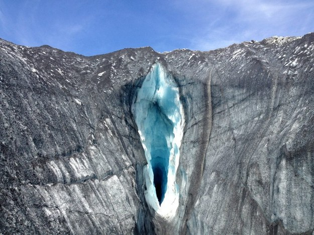 Si cela vous fait penser à quelque chose que l'on ne trouve pas dans un glacier...