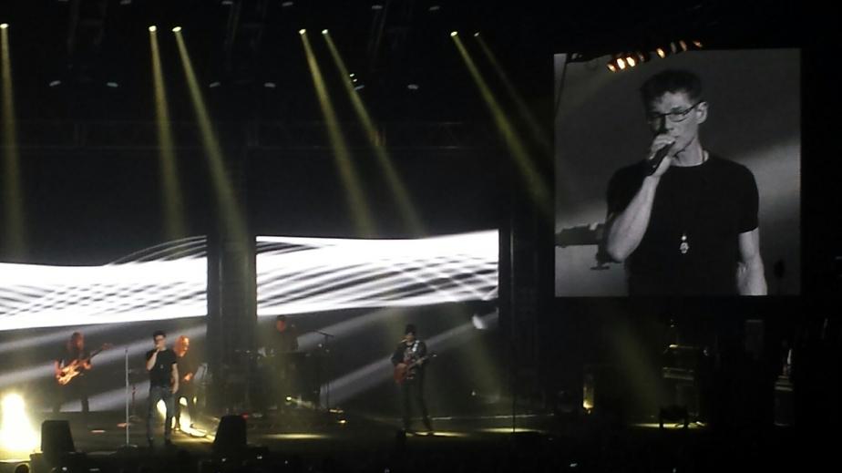 20160401 – Mon concert de A-HA le 01er Avril 2016 au Zénith deParis