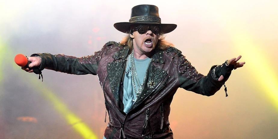 Guns N' Roses revient sur scène, 20 ans après