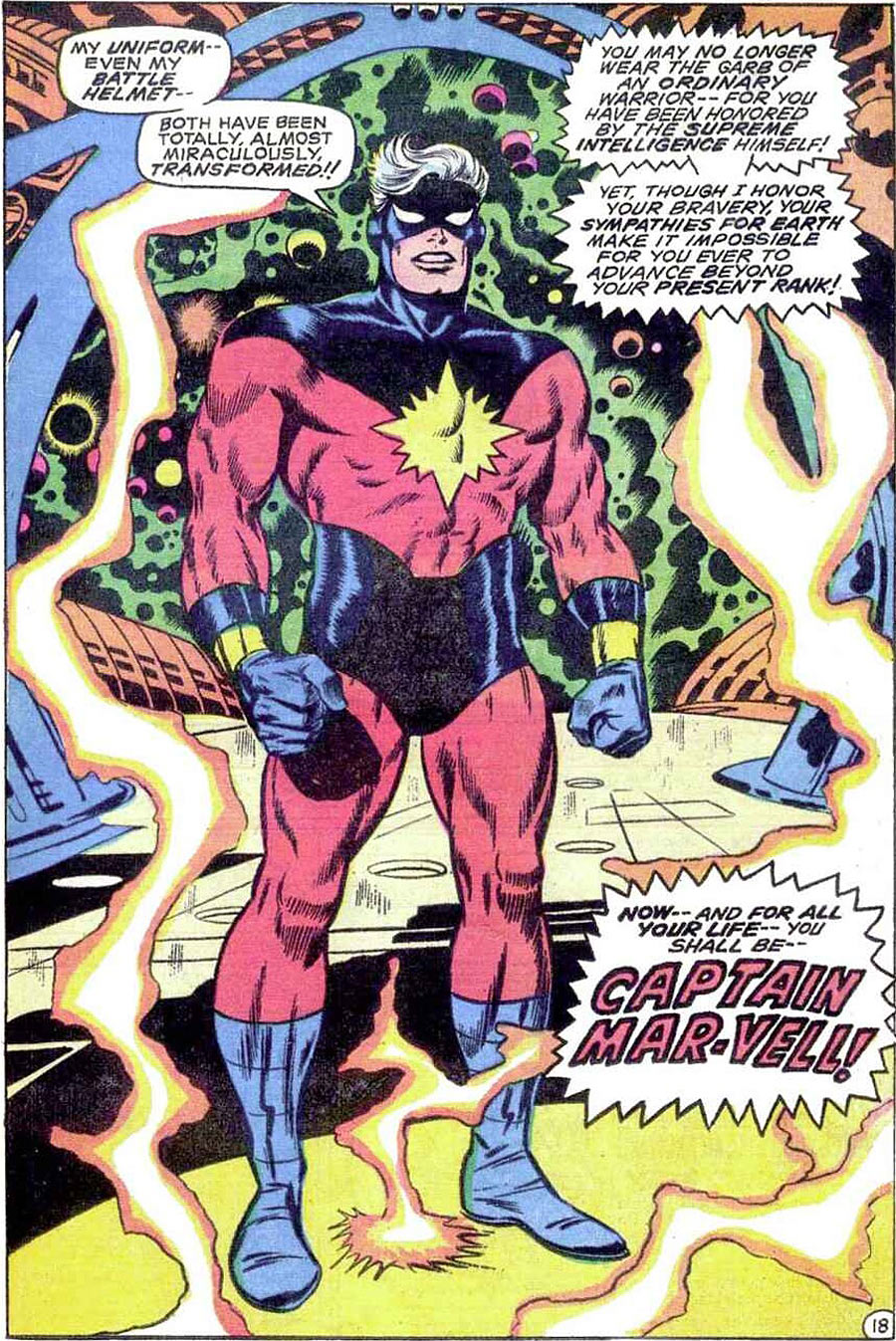 20160607 – Comics News :The Secret History of «Captain Marvel» | Comic BookResources