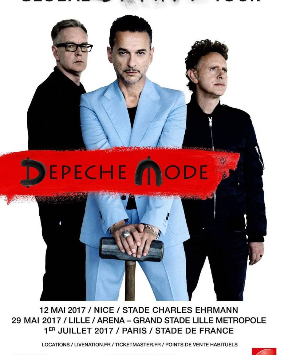 20161011 – Depeche Mode Global Spirit Tour / new album: Spirit