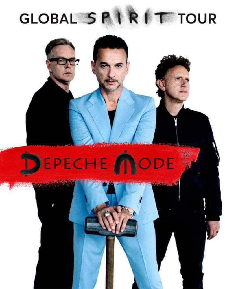 October 11, 2016 at 10:07PM – New Pin : Depeche Mode : Global Spirit Tour on Board: My Music – Depeche Mode