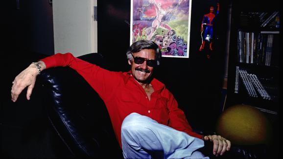 Le créateur de comics Stan Lee à New York (Etats-Unis), le 10 juillet 1978.