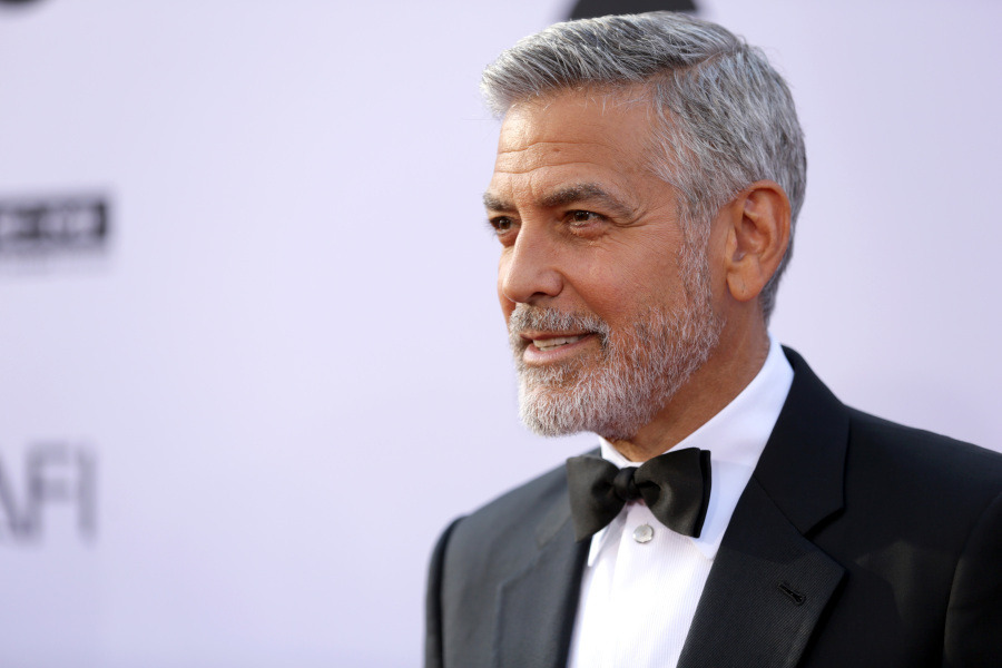 George Clooney à Hollywood, le 7 juin 2018